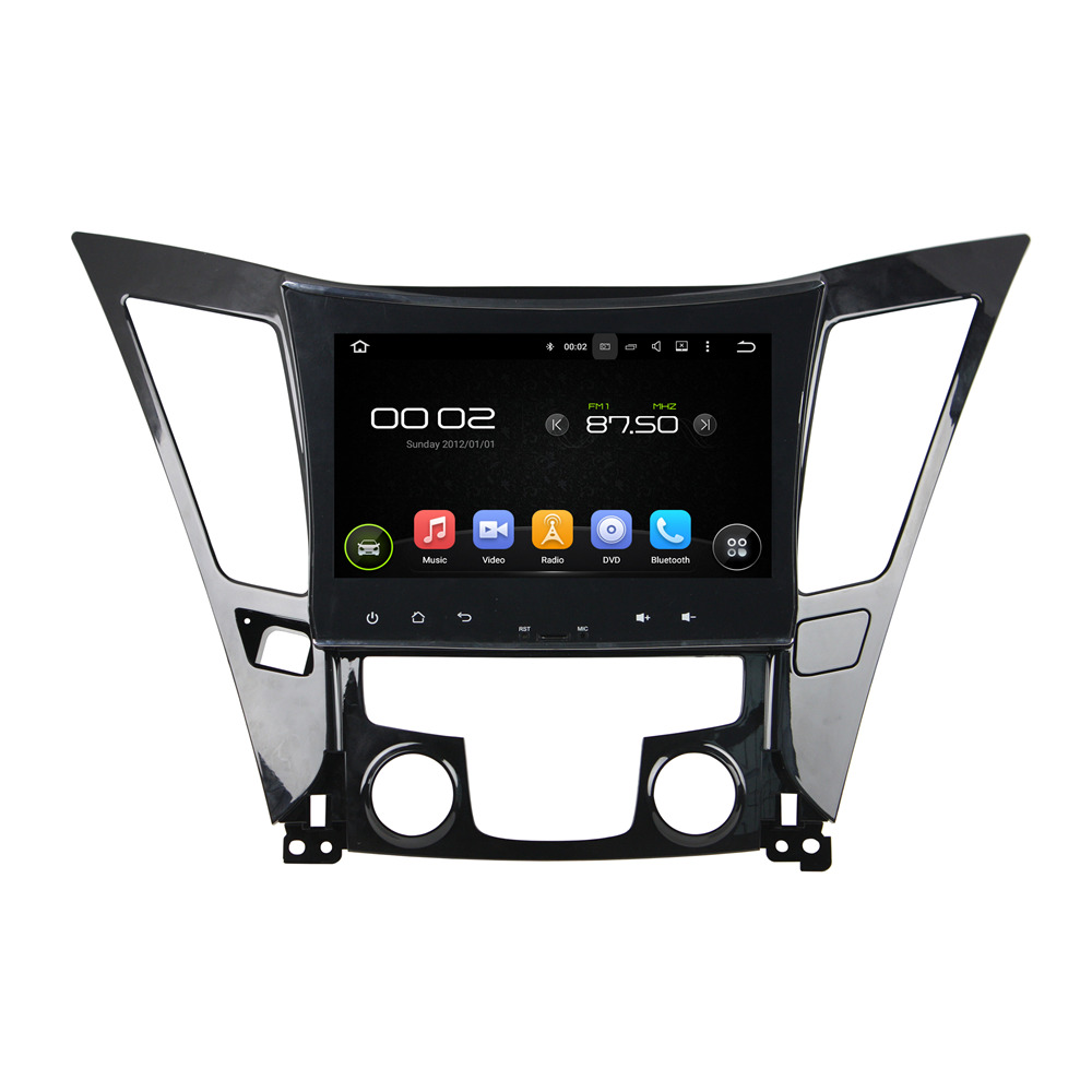 9 Inch ROM 16G ROM 32G Quad Core 1024*600 Android 5.1.1 Fit For Hyundai SONATA 2011-2013 GPS Navi Auto Radio RDS BT Wifi