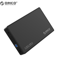 ORICO HDD Enclosure 3 5 Inch SATA External Hard Drive Enclosure USB 3 0 Tool Free