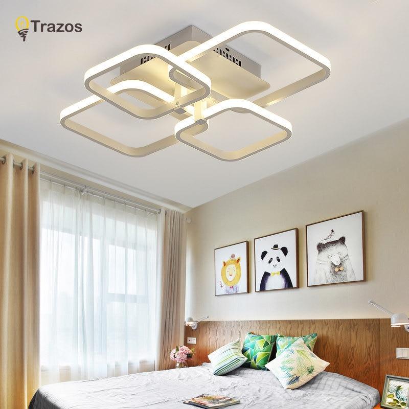 Trazos 2019 Rechteck Acryl Aluminium moderne LED Deckenleuchten für - Innenbeleuchtung - Foto 3