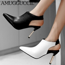 2019 Plus Big Size 32-48 White Red Fashion Sexy High Heel Party Spring Autumn Girls Female Lady Shoes Women Pumps D1248 2019 new plus big size 37 47 black brown green blue red pink fashion sexy high heel spring summer lady shoes women pumps d1245