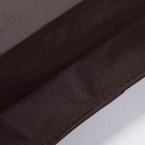 Image 5 - Erweiterung Kleidung Abdeckung vlies Stoff Staub Feuchtigkeit beweis Hängen Tasche für Winter Kleidung Pelz Mantel Protector AHD001
