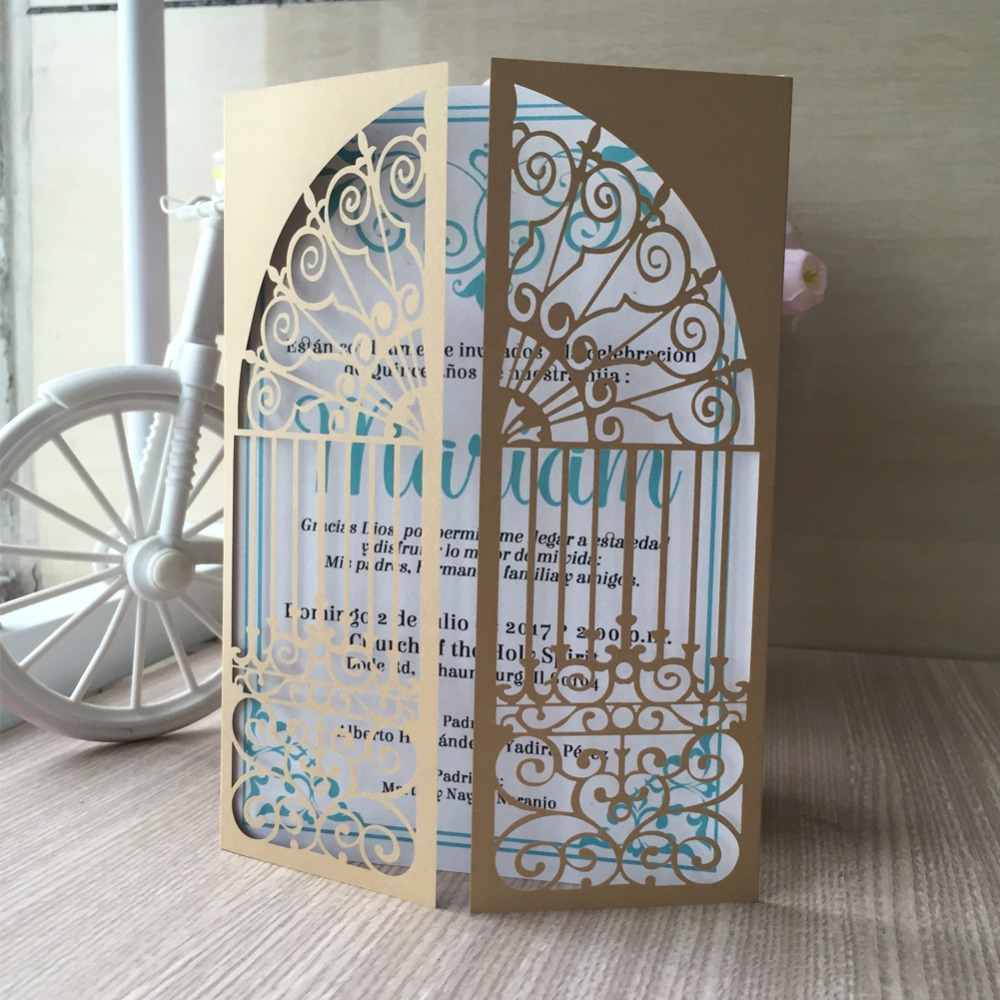 12pcs free fast shipping elegance door design wedding invitation 12pcs free fast shipping elegance door design wedding invitation high quality greeting card china factory cards supplier in cards invitations from home m4hsunfo