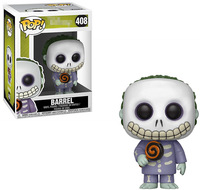 Funko pop Official The Nightmare Before Christmas Barrel Vinyl Action Figure Collectible Model Toy with Original Box
