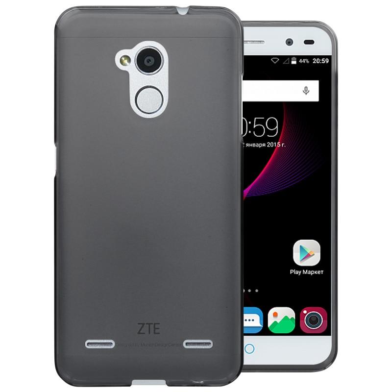 timeless design dcb25 de67c ZTE Blade V7 Lite Case Cover 4 Colors Matte TPU Soft Back Cover ...