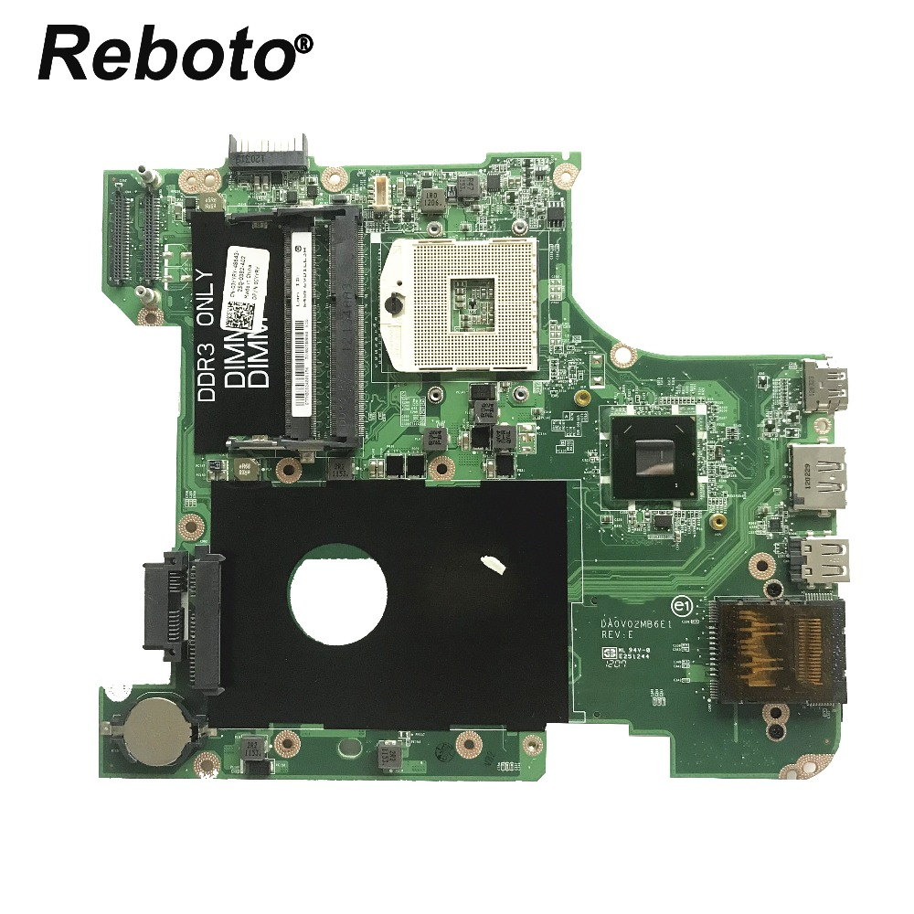 Reboto For DELL Vostro 3450 V3450 Laptop Motherboard CN-0JYYRY 0JYYRY JYYRY HM67 DA0V02MB6E1 DDR3 MB 100% Tested Fast Ship