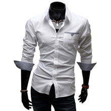 Popular Mens Designer Print Button Down Shirts-Buy Cheap Mens ...