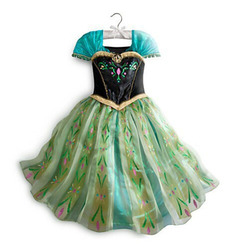 2018 girls dress Summer Kids Girls Dress Girl's Elsa Anna Dress Princess cosplay Party Dresses Baby Kids Clothes girls Clothing