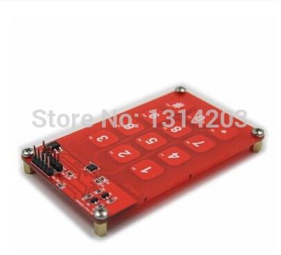 MPR121 Емкостный Сенсорный Модуль Панели 3*4 12 ключи 3.3 В Или 5 В Логики