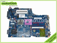 laptop motherboard for toshiba satellite A500 K000078380 KSKAA LA-4991P GM45 DDR2 with graphics slot