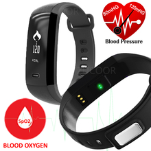 M2 Smart Band Bracelet Blood Pressure Oxygen Oximeter Heart Rate Bluetooth Watch Fitness Tracker Pedometer For iOS Android Men