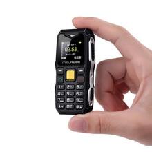 Melrose Mini Military Pocket Bar Telephone Long Standby Big Voice Flashlight FM Single Sim Smallest Size