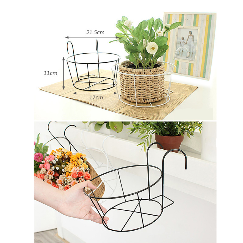 Flower Baskets For Balconies : Popular wall railing buy cheap lots from