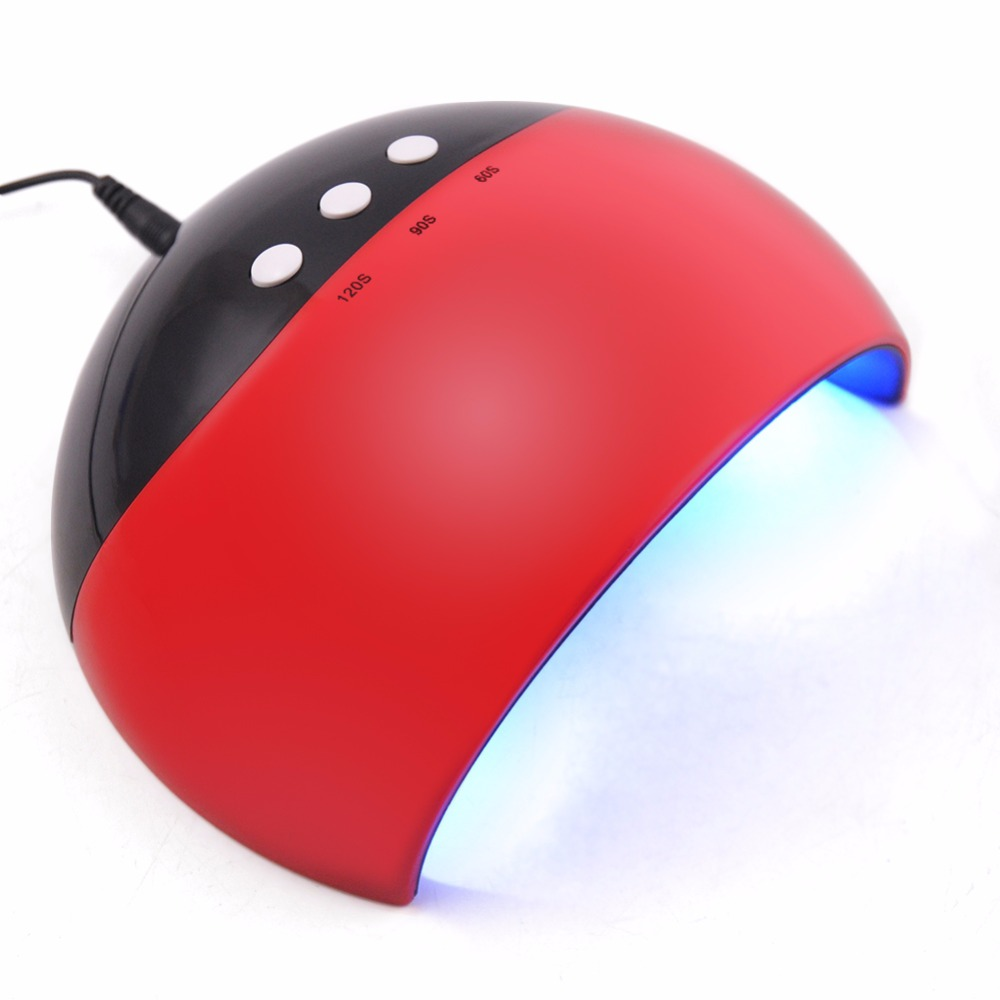 New Style LED UV Nail Dryer Portable Support USB LED Lamp Nail Dryer Curing For UV Gel Quick-Dry 24W Support USB Charge