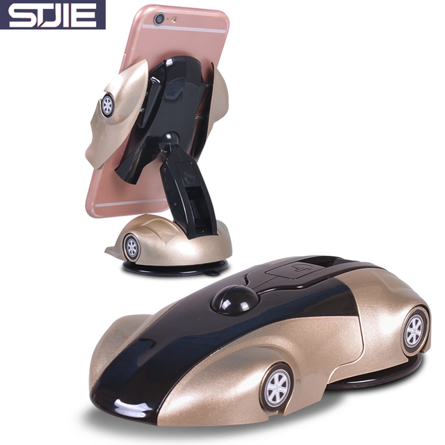 STJIE universal mobile holder car shape phone accessories mobile phone stand for Iphone 5 5s 7