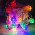 On sale barato novelty bola $ number pies led cadena de cable negro estrellado led cordón de iluminación luces de navidad de la boda decoración de interior al aire libre