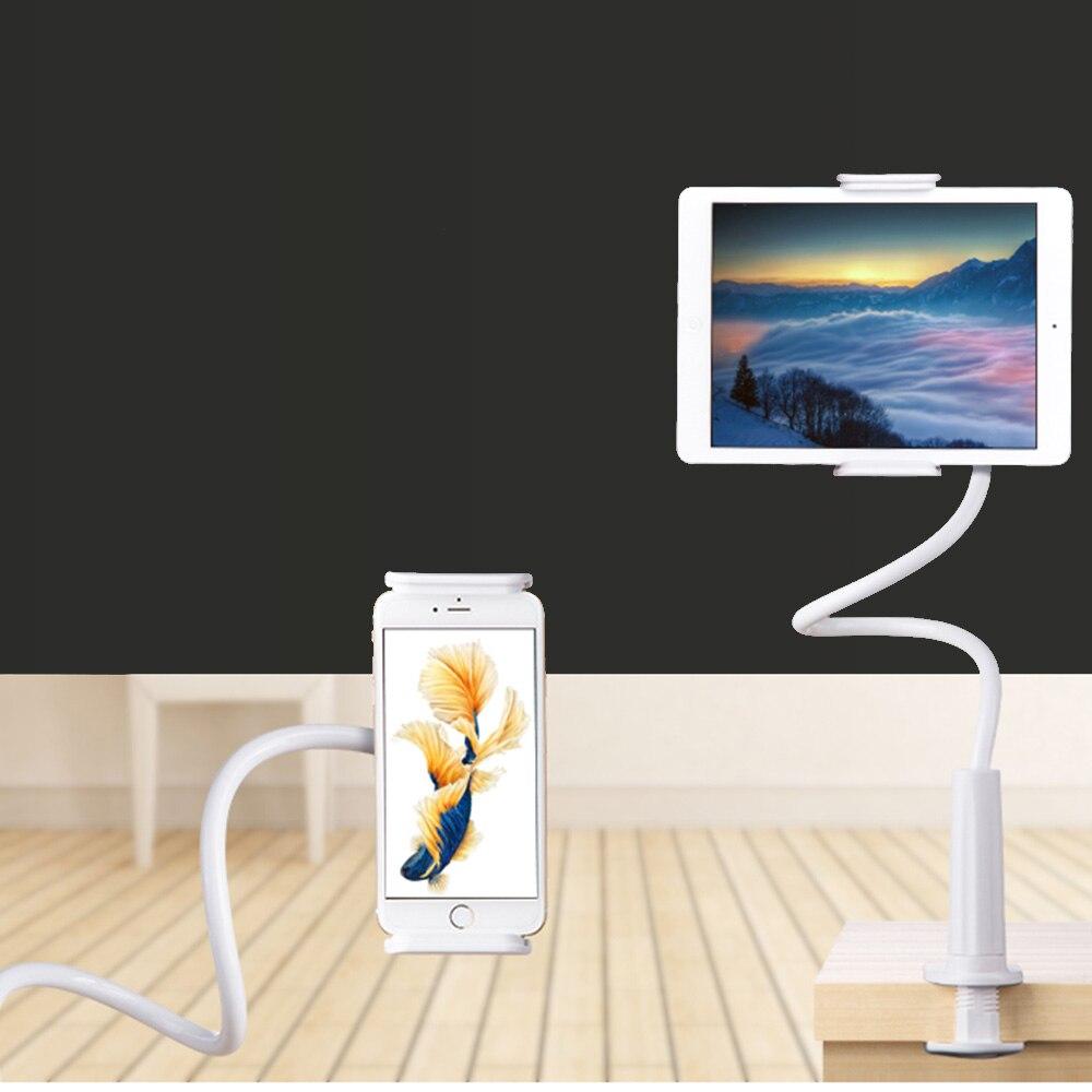 Flexible Tablet Titulaire Rock 360 degrés Bras table pad stand 70 cm de Long Gens Paresseux Lit De Bureau tablet montage pour ipad mini