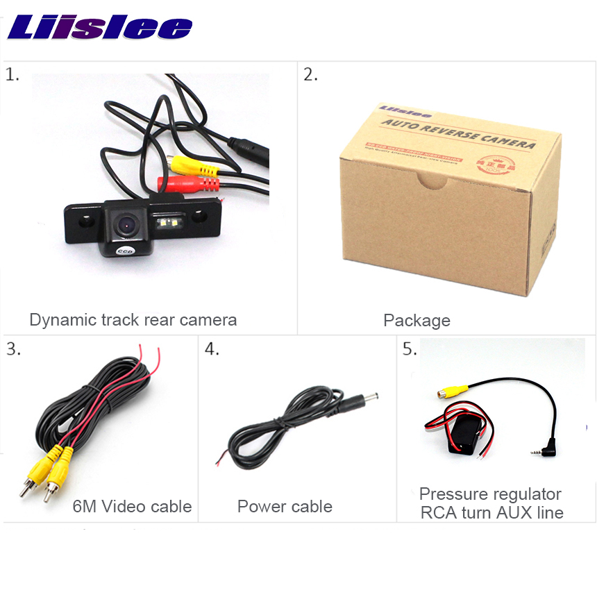 Liislee For Ford For Mondeo / Car Parking Camera / Rear View Camera / Back Up Reverse Camera / HD CCD Night Vision + Water-Proof