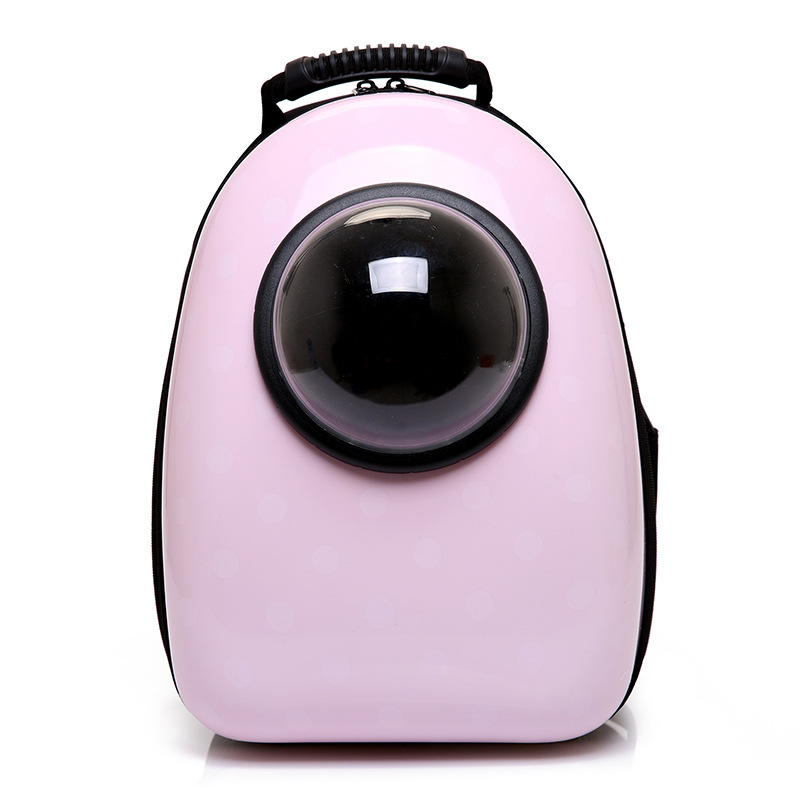 Pet Travel Bag Space Capsule Shaped Breathable Pet Outside Cat Carrier Backpack Pet Dog  ...