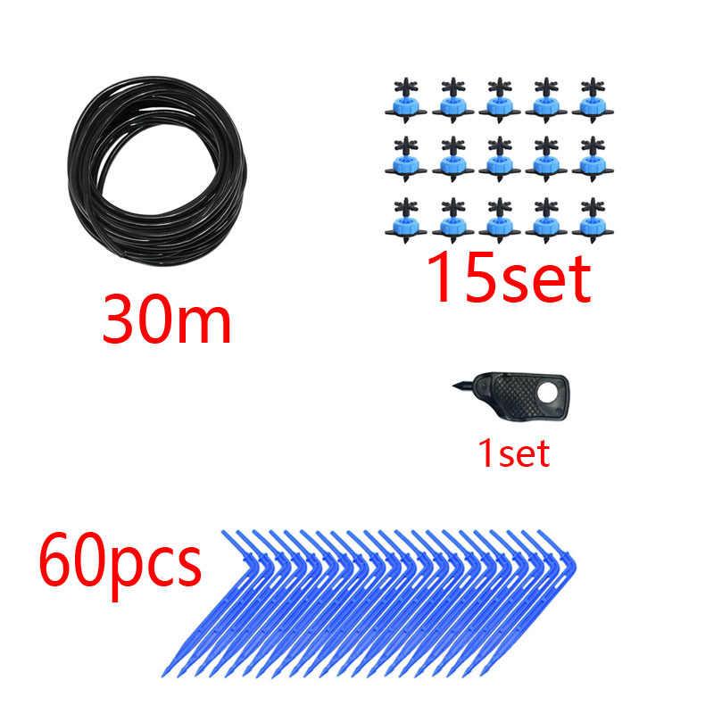 8L Panah Drip Sistem Emitor 4-Way Drip Panah Dripper Rumah Kaca Sistem Irigasi Air Drop Taman 10 Set 15 set