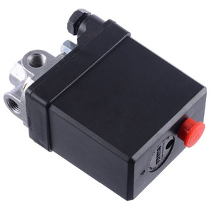 Image 4 - 1 Pcs 3 fase 380/400 V Interruttore di Pressione del Compressore Heavy Duty Compressore Daria Pressostato Valvola di Controllo Mayitr