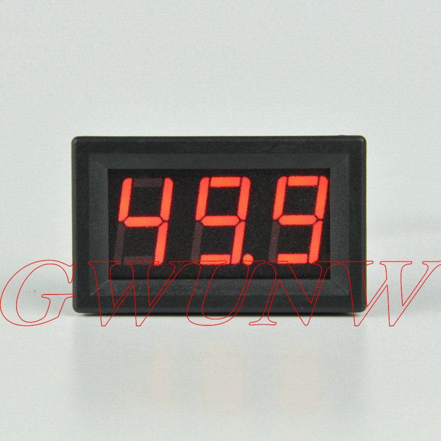 external Shunt 3 Bit 0.56 Inch Led Digit Ammeter Current Panel Meter To Win Warm Praise From Customers Gwunw By356a 0-50.0a 50a
