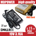 Mdpower para DELL DELL Laptop Charger Power Adapter 19 V 3.16A adaptador AC cabo