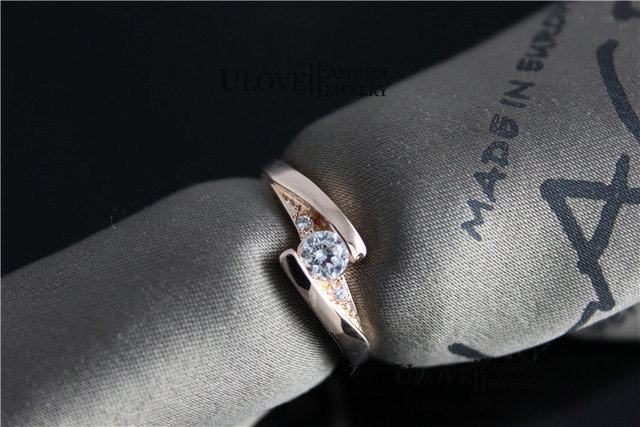 Silver Plated Wedding Jewelry Ring