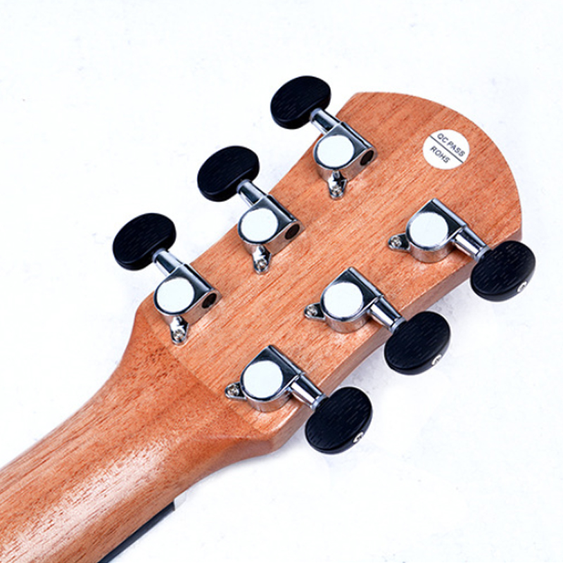 Guitare en épicéa ukulélé 30 pouces Hawaii Qin 6 cordes - 2