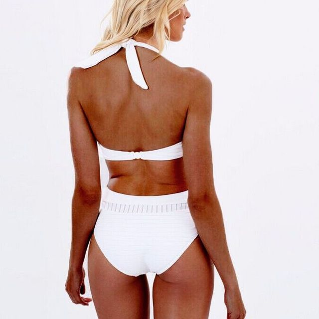 New One Piece Women Push Up Swimwear Bathing White Sexy Swimsuit Beach Bandages Swim Wear Swimming Suits Female Swimming