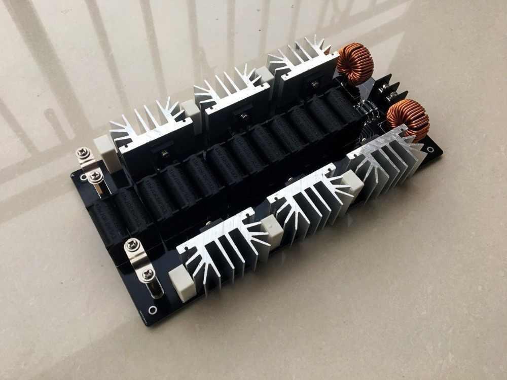 2500W ZVS Induction Heating Board Module Flyback Driver Heater + Tesla Coil  +Fan