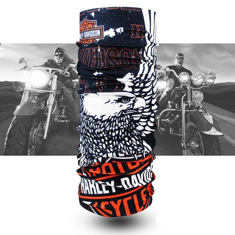 Motorrad Harley Bandana Buffs Ciclismo Hals Wärmer Schädel Stirnband Schals Magie Bandana Masque Ski Neck Buffs Radfahren Gesicht Maske