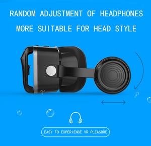 Image 3 - Latest Upgrade Original VR shinecon 7.0 headset  virtual reality glasses 3D VR glasses headset helmets Game box