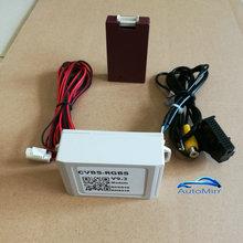 Longate RNS510 RCD510 RNS315 Camera in input adapter RGB to CVBS AV Rear View Adapter RVC RCA Converter Decoder fit VW Skoda