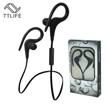 TTLIFE High quality Bluetooth earphones V4.1 Wireless In-Ear sport Headphones headset Auriculares with mic for Phone xiaomi mp3