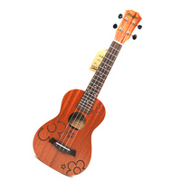 21 Ukulele 4 strings Sapele Acoustic Small guitar Rosewood Fretboard Electric Ukulele with Pickup EQ Musical Instrument guitare