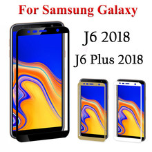 tempered glass for samsung j6 plus screen protector glass on for samsung galaxy j6 plus j62018 j6plus 6j 2018 j 6 film samsun(China)