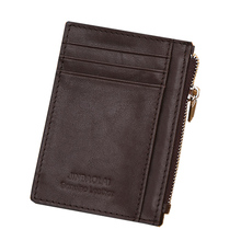 JINBAOLAI Genuine Men Wallet Cowhide Leather Coin Purse Clutch Luxury Vintage Designer Male Wallets  BID069