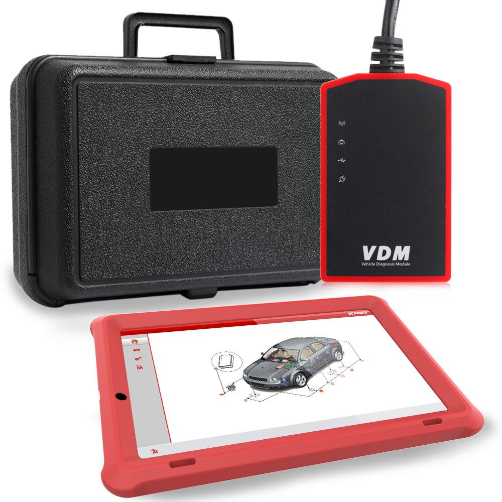 UCANDAS VDM V4 5 Wifi Professional OBD2 Automotive Scanner SRS EPB Multi Language Full System OBDII
