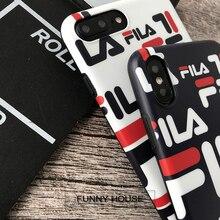 Case Etui Apple iPhone FILA