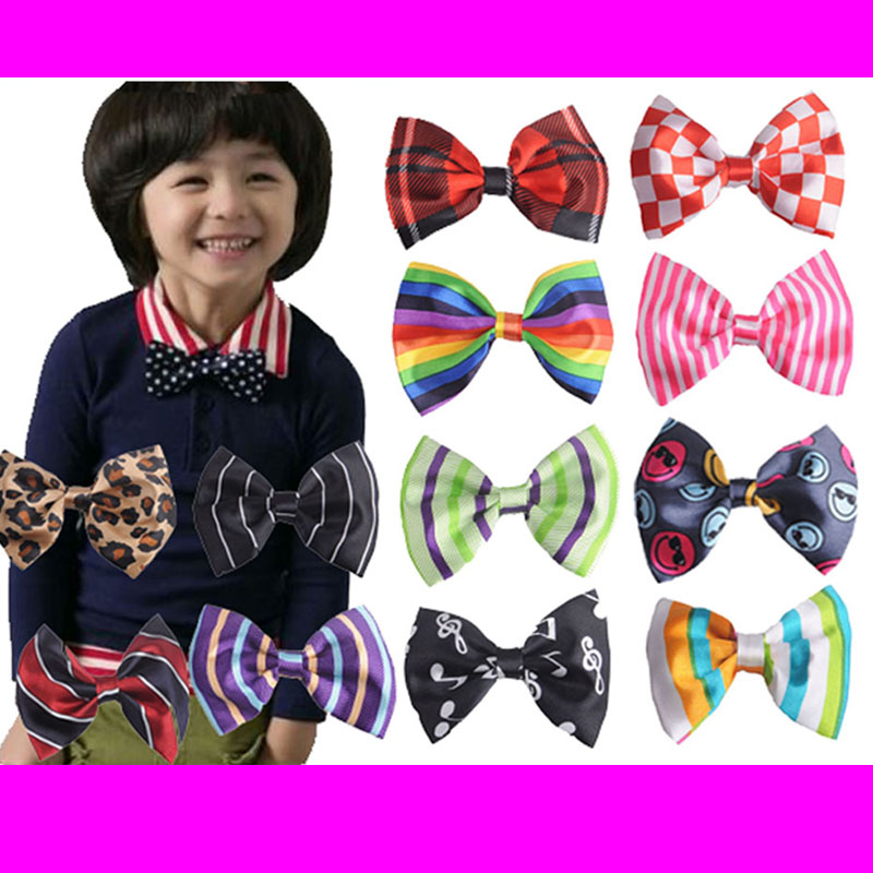 Shop For Cheap 2019 New Arrival Children Cool Bow Tie Baby Boy Kid Leopard Accessories Striped Dot Cotton Bow Tie Wedding Party Gifts Fine Quality Apparel Accessories Boy's Accessories