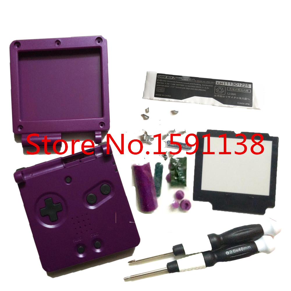 Gameboy color emulator online - Brand New Purple Color Gba Sp Housing Shell For Nintendo Gameboy Advance Sp Handheld Consoloe With