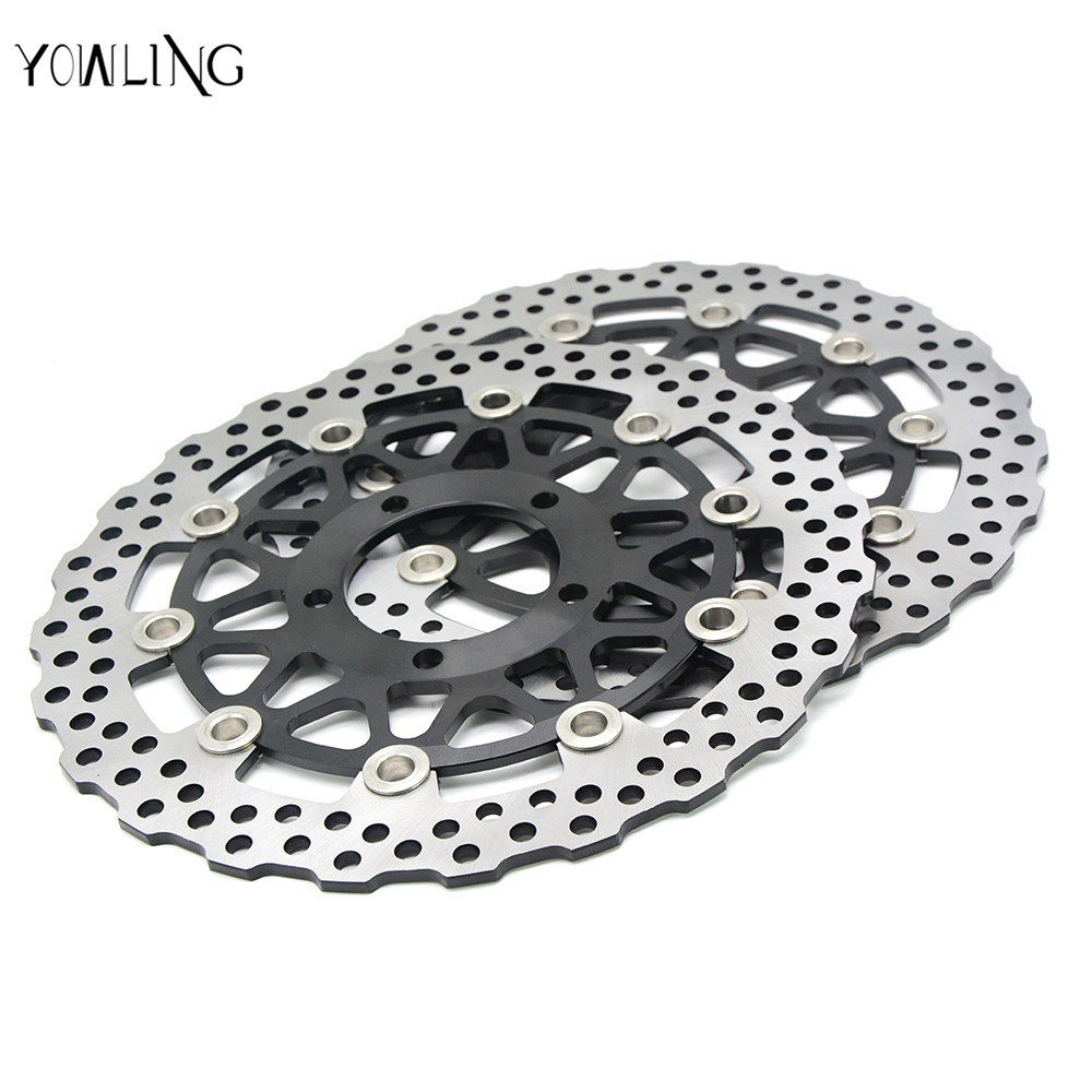 motorcycle accessories Front Brake Disc Rotor For KAWASAKI ZZR-ZX14R ABS NINJA 1400CC model year 2008 2009 2010 2011 12 13 2014