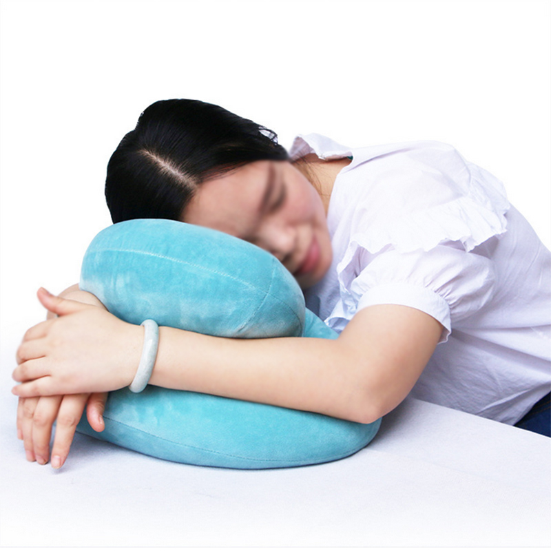 office nap pillow. Round Creative Nap Cushion Soft Fabric Can Used In Classroom Office Pillow Relax Home Bedroom Decoration-in Body Pillows From \u0026 Garden On S