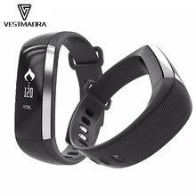 Vestmadra M2 Smart Band артериального давления наручные часы Пульс Метр монитор cardiaco фитнес-трекер SmartBand IOS Android