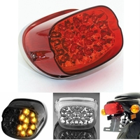 Chopped Led Tail Light For Harley 833 1200 Harley Motorcycle Taillight