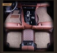 Car Floor Mat Car Rugs Set Interior Accessories For Focus Transit Custom Fiesta S MAX Explorer