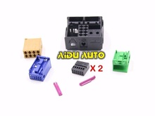 FOR 3B7 035 444 VW RADIO PLUG SOCKET ADAPTER 3B7035444
