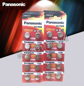 Panasonic 100 шт., батарейки lr44 1,5 В, батарейки для литиевых монет A76 AG13 G13A LR44 LR1154 357A SR44, 100% оригинал