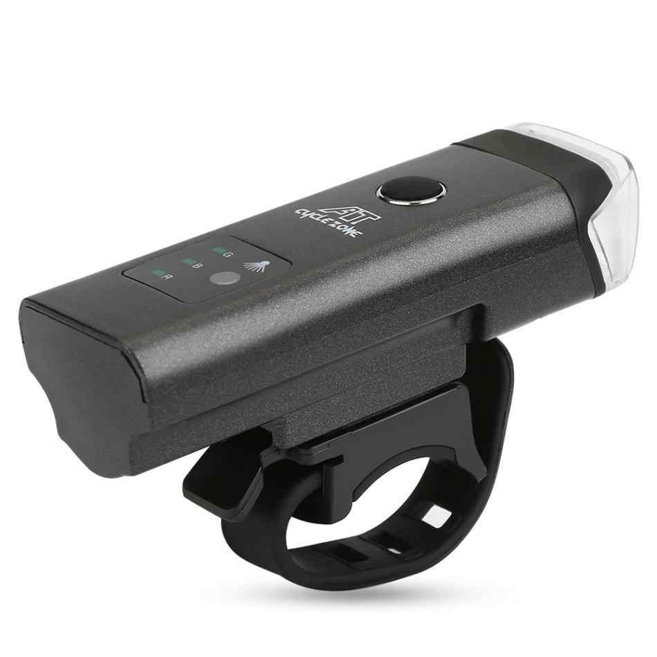 Велосипед передний свет USB Перезаряжаемые высокое Мощность светодиодный фара руль освещения Фонари велосипед ночь Велоспорт фонарик