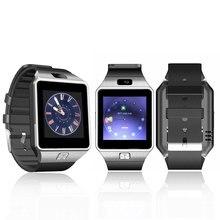Смарт часы DZ09 с камера Bluetooth наручные SIM карты Smartwatch Фитнес браслет для Ios телефонах Android нескольких языков